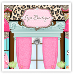 Spa Party Girly Boutique Ltd-girly web design, boutique web design, deannas designs,