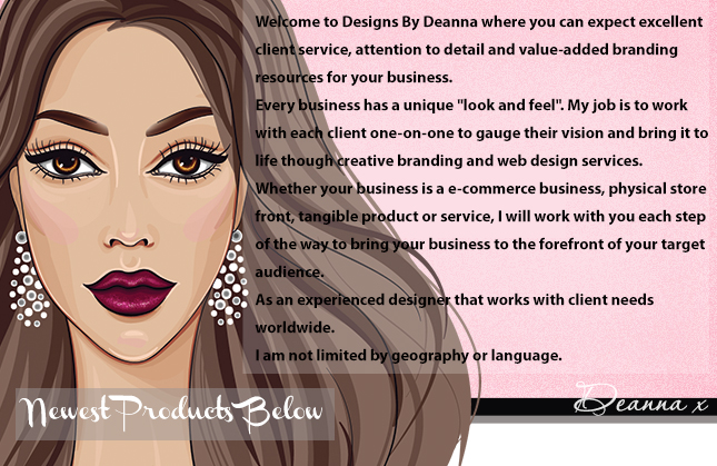 girly boutique web design