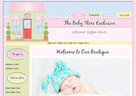 Boutique Street-Baby Store Exclusive