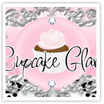 Cupcake Glam Exclusive-Boutique website design, girly web design,