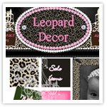 Leopard Print Decor-