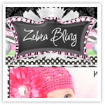Zebra Bling 14 Exclusive-girly webdesign