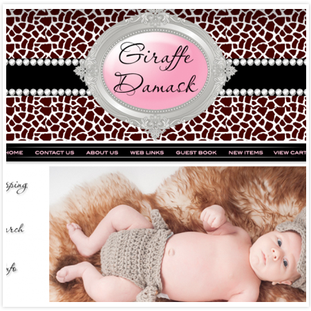 Giraffe Damask Ltd-