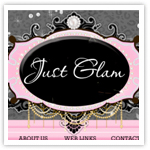 Just Glam Ltd Premade 2-girly web design,