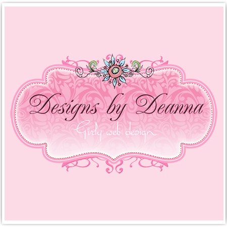 Logo Design on Premade Logo Girly Web Design Girly Logos Posh Logos ...