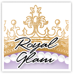 Royal Glam Gold Premade Logo-